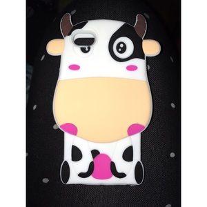 Accessories - iPhone SE/5s/5c Cow Case